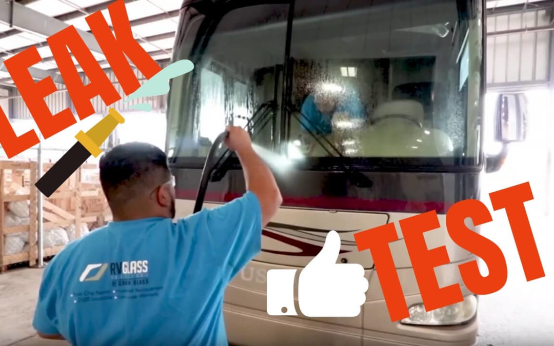 DIY RV Windshield Leak Test