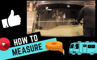 How to Measure Your RV Windshield for Replacement