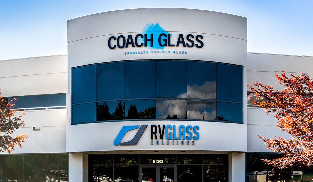 RV Glass Solutions announces rebranding  and partnership with sister company Coach Glass